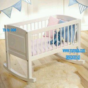 jual tempat tidur bayi kayu multifungsi