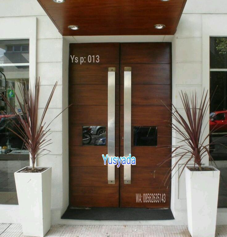 Pintu Rumah Minimalis Elegan Dan Terbaik Yusyada