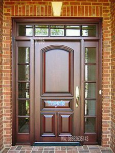 Gambar Model Pintu Kayu