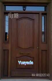 Model Kusen Pintu Kayu Jati