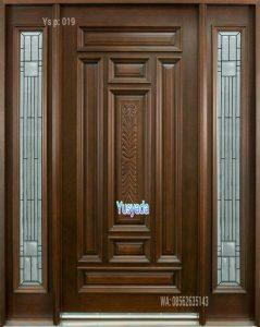 Model Pintu Kayu Jati