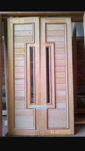Model Pintu Rumah Dari Kayu