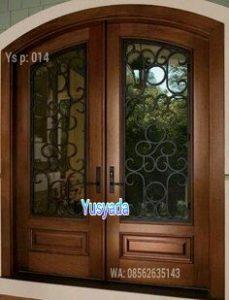 Model Pintu Rumah Dari Kayu Jati